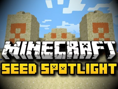 Minecraft Seed Spotlight #18 - EASY DIAMONDS IN 1.3.1 (HD)