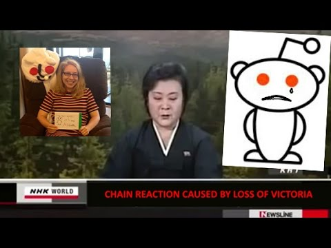 Pyongyang Reports on Reddit's Loss of Victoria