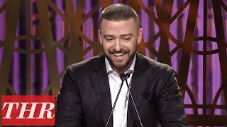 Download Lagu Justin Timberlake Full Speech at The Hollywood Reporter's Women in Entertainment 2017 Gratis STAFABAND