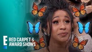 Cardi B Has Butterflies in Her Stomach & Where?! | E! Red Carpet & Award Shows