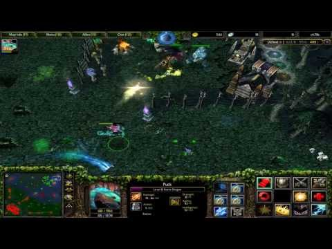 [GAMEPLAY HD 1080p.][En Español] Warcraft III: The Frozen Throne (DotA en Garena 6/31/13)