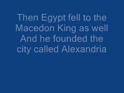 Iron Maiden - Alexander The Great [ With Lyrics ] video