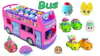 Surprise Blind Bag Season 8 Shopkins Ride The Gift 'Ems Double Decker Tour Bus Car