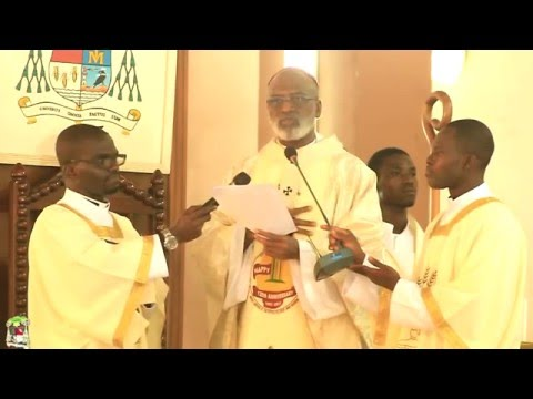 Chrism Mass 2016 - Catholic Archdiocese of Accra (23-03-2016)
