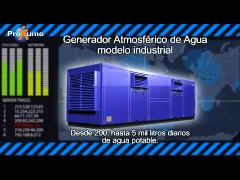 Proxumo - Generadores atmosféricos de agua