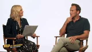 MAX 60 Seconds with The Conjuring's Patrick Wilson (Cinemax)