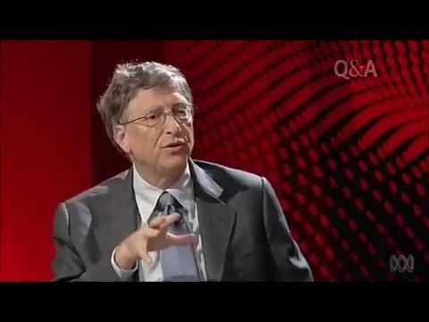 QandA Bill Gates asked how to cut carbon footprint in 3rd world countries