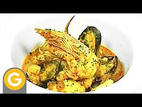 ABC Gourmet. Bajas Calorías - Cazuela de mariscos