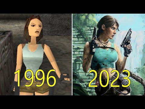 Evolution of Tomb Raider Games 1996-2018