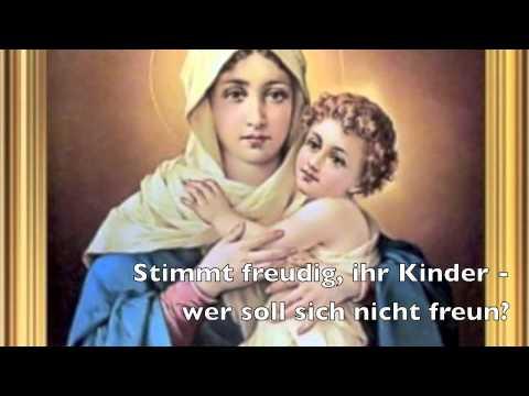 Ihr Kinderlein kommet - Weihnachtslied mit Text zum Mitsingen