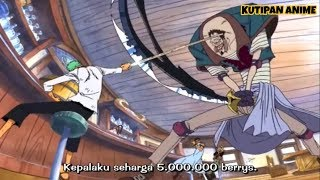 Ketika Zoro masih menjadi Pemburu Bajak laut, sub indo (One piece)