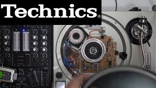 Technics 1200 1210 | Ruido transformador toroidal vs original