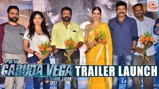 Rajasekhar's PSV Garuda Vega Movie Trailer Launch | Rajasekhar Pooja Kumar Shraddha Das Balakrishna