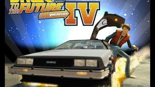 Grand Theft Auto IV - Back To The Future [Time Travel Mod] #Gta IV
