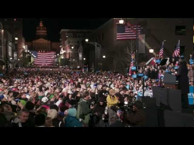 First Lady Michelle Obama's Speech at the President's Final Rally in Iowa