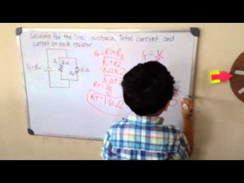 5-year-old Solves A Circuit Better Than Students