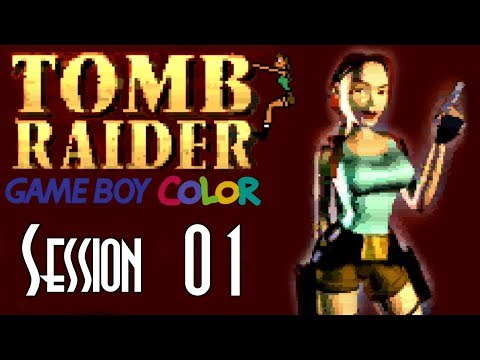Let's Blindly Stream Tomb Raider (Game Boy Color)! - Session 01 - Temple A, B, C & Royal Tombs A