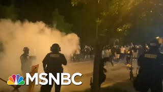 D.C. Mayor Implementing Earlier Curfew As City Wakes Up To Vandalized Buildings | MSNBC