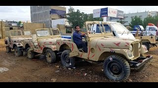 43 Army Auction Vehicles for Sale   in Private Showroom