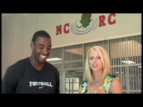 Interview with NFL Receiver Calvin Johnson LANEY CROWDER