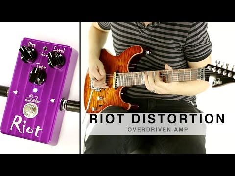 SUHR RIOT DISTORTION™ - OVERDRIVEN AMP