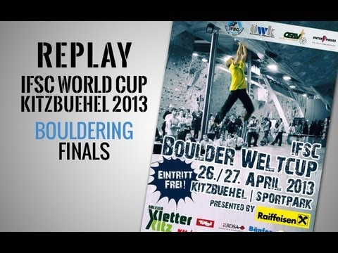 IFSC Climbing World Cup Kitzbuehel 2013 - Bouldering - Replay Finals