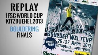 IFSC Climbing World Cup Kitzbuehel 2013 - Bouldering - Replay Finals