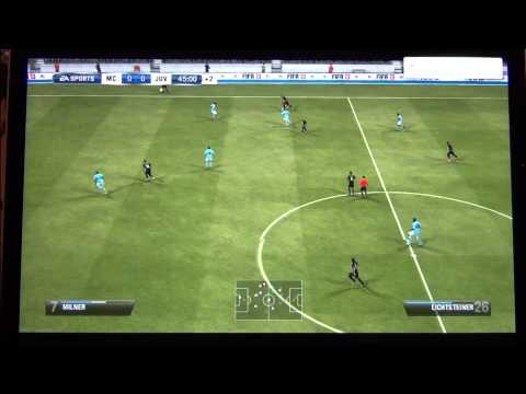 FIFA 13 demo gameplay on Macbook Pro Retina FULL HQ
