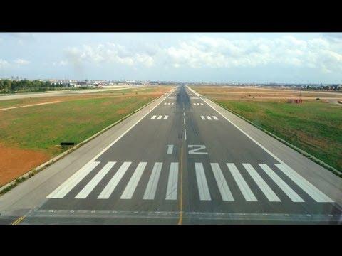 Amazing Airplane Landings Amazing Cockpit Landing View