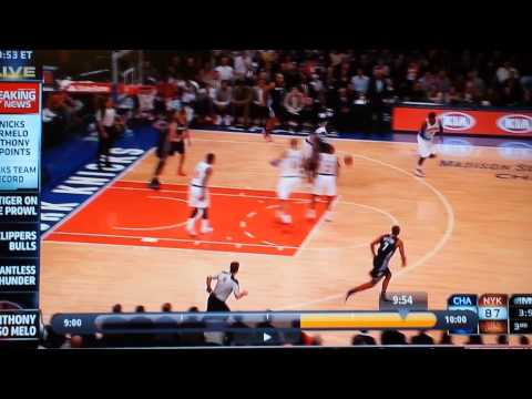 Carmelo Anthony, 62 points and the BEST. TRAVEL.  EVER (with slow motion)
