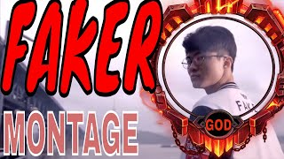 Pro League Player - Faker │Faker Montage - [League of Legends]