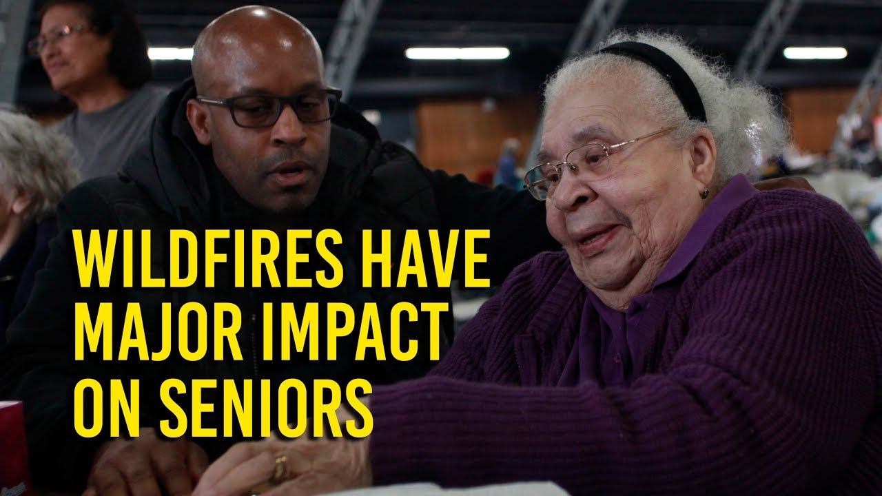 Wine country wildfires have big impact on seniors