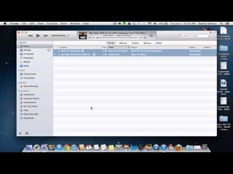 iTunes AAC to MP3 format