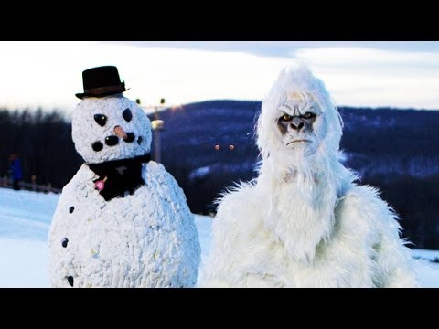 Yeti & Scary Snowman Prank - Season 4 Episode 6