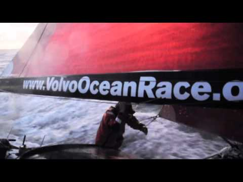 Alicante Puerto de Salida . Volvo Ocean Race 2011-12
