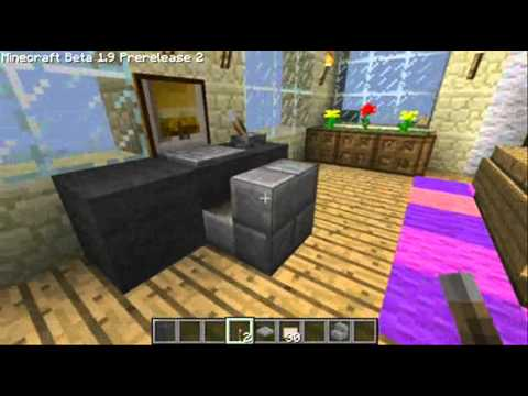 Minecraft Interior Various Ideas - YouTube