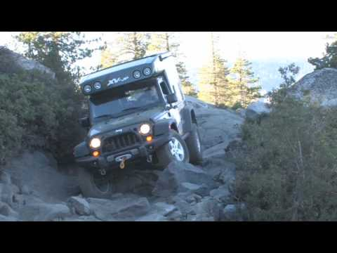 EarthRoamer XVJP on the Rubicon Trail