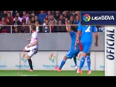 Gol de Bacca (2-1) tras el gran control de Rakitic - اشبيلية ريال مدريد - HD