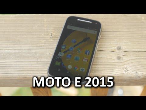 Moto E 2015 Phone Review