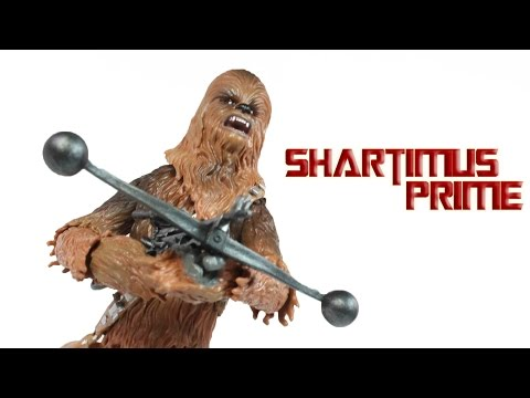 Star Wars Chewbacca Black Series 6 Inch Action Figure Review