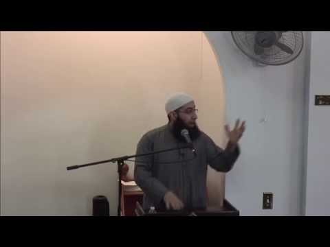 Ustadh Mohammad Elshinawy - Jummah on 12/26/14