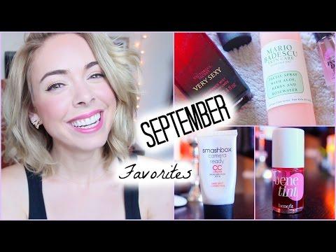 ♥ September Favorites! Makeup, Skincare & Nails!
