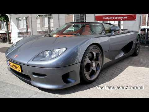 Koenigsegg CC8S - Amazing accelerations!! 1080p HD
