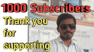 1000 Subscribers