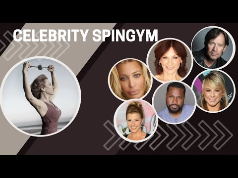 Best Celebrity Workout EVER with HSN SpinGym & Forbes Riley