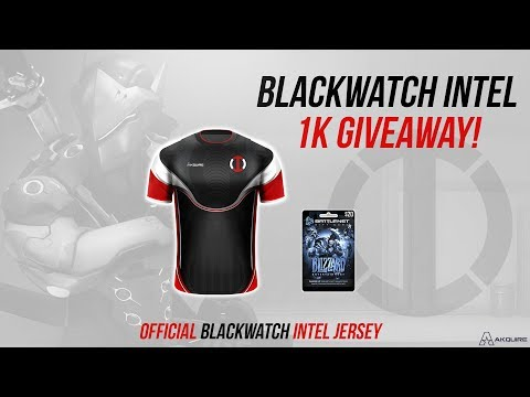 Blackwatch Intel - 1K subscriber giveaway announcement!