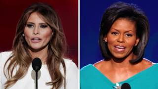 "Trump campaign says Melania plagiarism accusations are ""just absurd"""