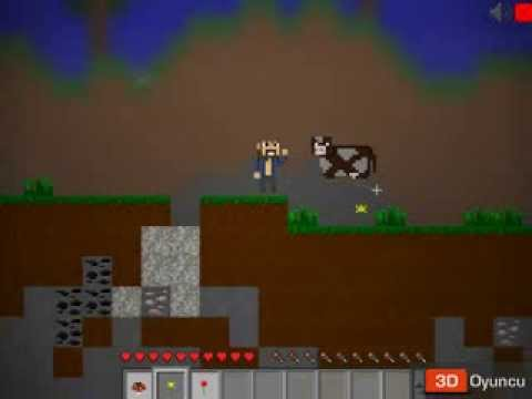 Minecraft 2D - 3D Macera Oyunları