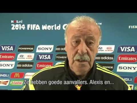 Del Bosque: kleine aanpassing | WK Voetbal 2014