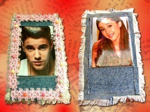 DIY Tutorial portalápices con Justin Bieber y Ariana Grande